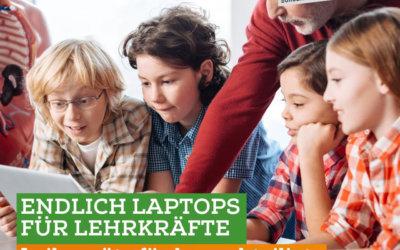 Digitalisierungsoffensive an NRW Schulen
