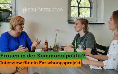 Frauen in der Kommunalpolitik – Interview für ein Forschungsprojekt