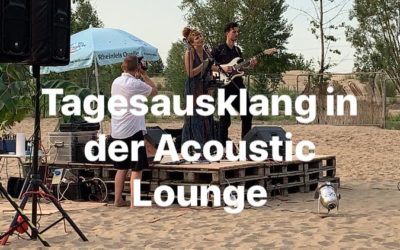 Tagesausklang in der Acoustic Lounge