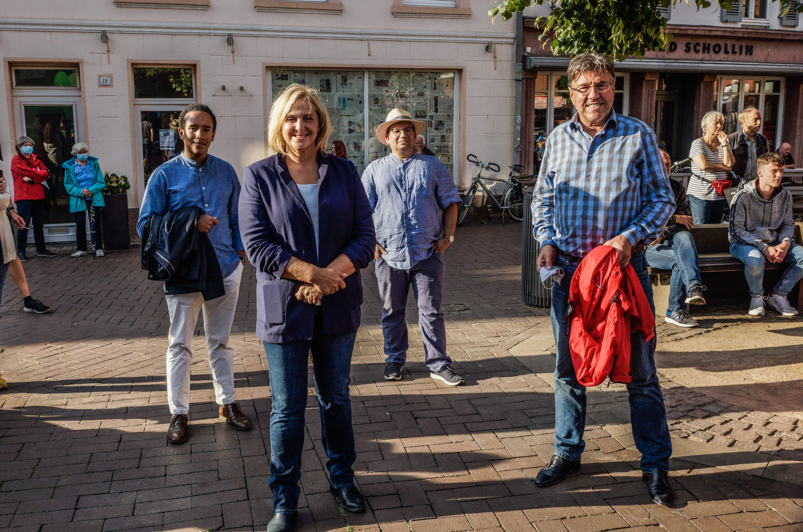 Auch die CDU war zu Gast mit Hans Wansing, Thomas Koch und Marc Bootmann