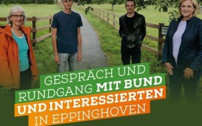 Unterwegs in Eppinghoven mit dem BUND
