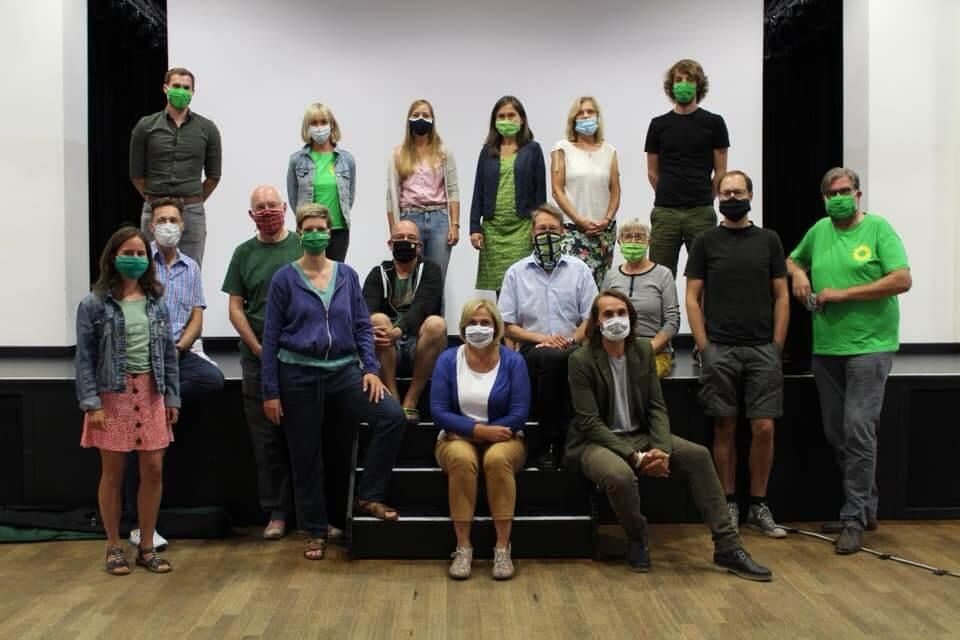 Michaela Eislöffel – Veranstaltung zum Thema Klimaschutz und Energiewende der Grünen Dinslaken am 7 August 2020 (2)