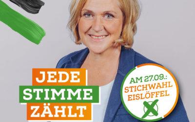 Jetzt erst recht!!! Jede Stimme zählt!!! Stichwahl um das Bürgermeister*innenamt in Dinslaken am 27. September 2020